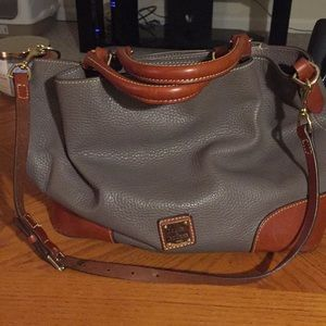 Dooney&Bourke Pebble Grain Large Barlow Purse